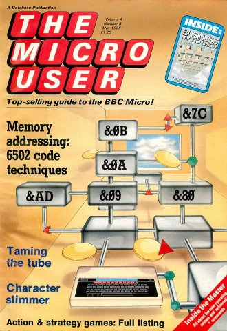 The Micro User Vol.04 No.03 (May 1986)