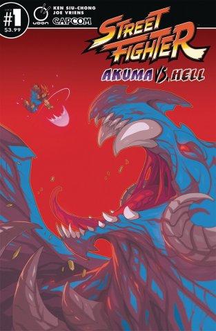 Street Fighter - Akuma vs. Hell (September 2019) (Cover B)