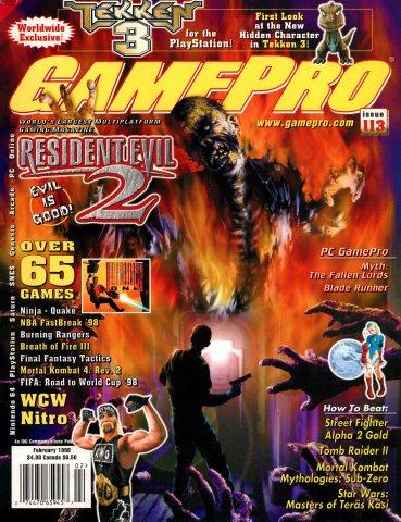 GamePro Issue 113 February 1998