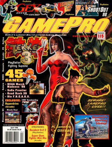 GamePro Issue 115 (April 1998)