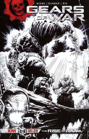 Gears of War: The Rise of Raam 001 (January 2018) (Cover E 2nd print)