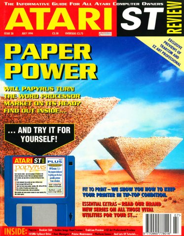 Atari ST Review Issue 28 (July 1994)