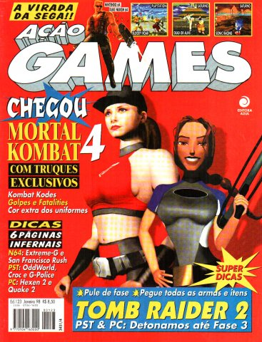 Acao Games Issue 123 (January 1998)