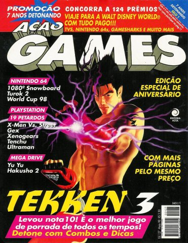 Acao Games Issue 127 (May 1998)