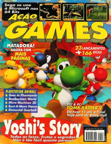 Acao Games Issue 126 (April 1998)