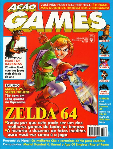 Acao Games Issue 134 (December 1998)