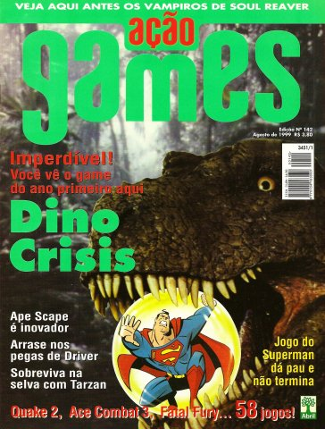 Acao Games Issue 142 (August 1999)