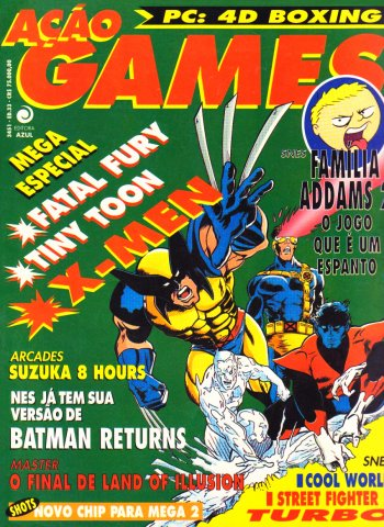 Acao Games Issue 033 (April 1993)