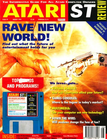 Atari ST Review Issue 29 (August 1994)