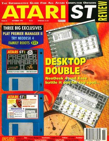 Atari ST Review Issue 32 (November 1994)