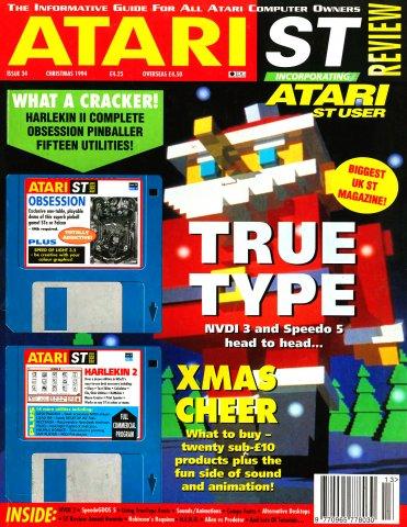 Atari ST Review Issue 34 (Xmas 1994)