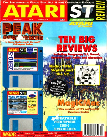 Atari ST Review Issue 35 (January 1995)