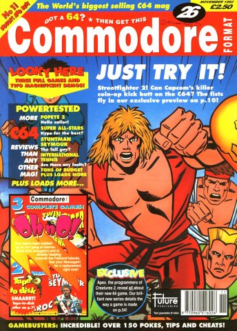 Commodore Format Issue 26 (November 1992)