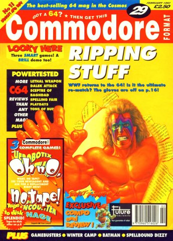 Commodore Format Issue 29 (February 1993)