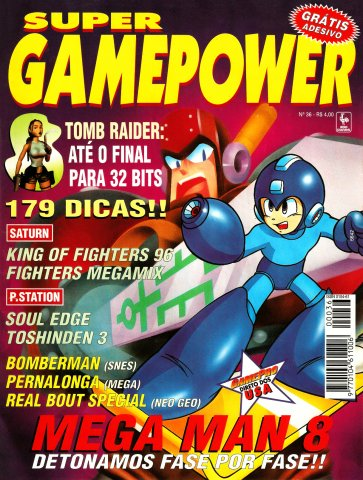 SuperGamePower Issue 036 (March 1997)