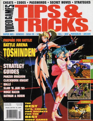 Tips & Tricks Issue 008 October 1995