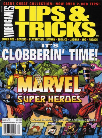 Tips & Tricks Issue 016 February 1996