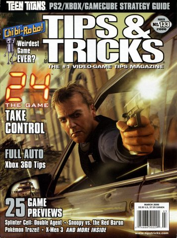 Tips & Tricks Issue 133 March 2006
