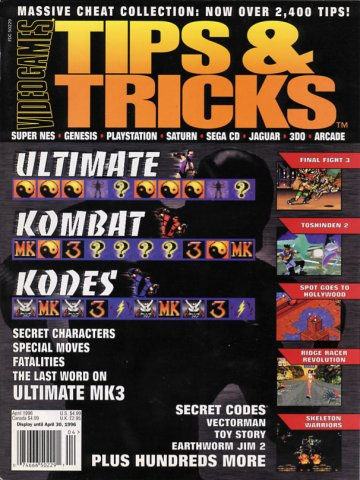 Tips & Tricks Issue 014 April 1996