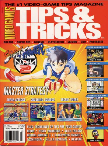 Tips & Tricks Issue 017 July 1996