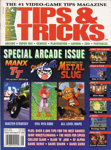 Tips & Tricks Issue 018 August 1996