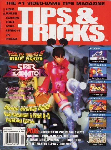 Tips & Tricks Issue 021 November 1996