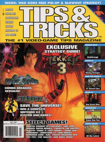 Tips & Tricks Issue 029 July 1997