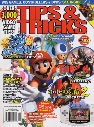 Tips & Tricks Issue 092 October 2002