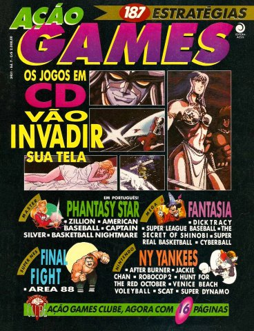 Acao Games Issue 007 (November 1991)