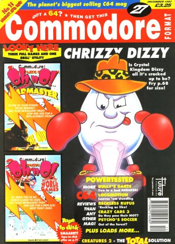 Commodore Format Issue 27 (December 1992)