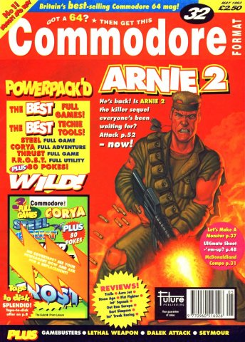 Commodore Format Issue 32 (May 1993)