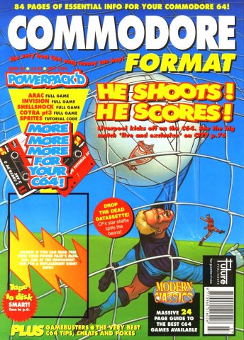 Commodore Format Issue 34 (July 1993)