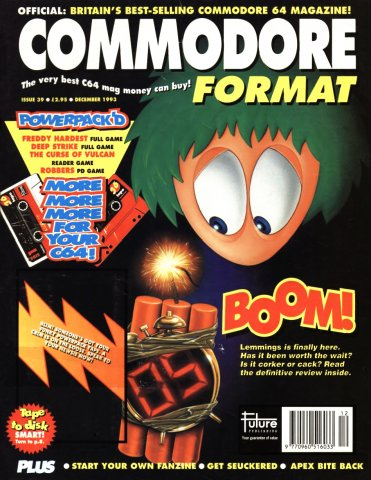 Commodore Format Issue 39 (December 1993)