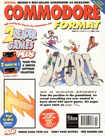 Commodore Format Issue 43 (April 1994)