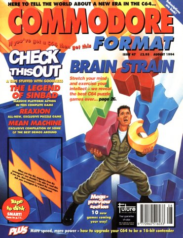 Commodore Format Issue 47 (August 1994)
