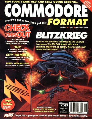 Commodore Format Issue 48 (September 1994)