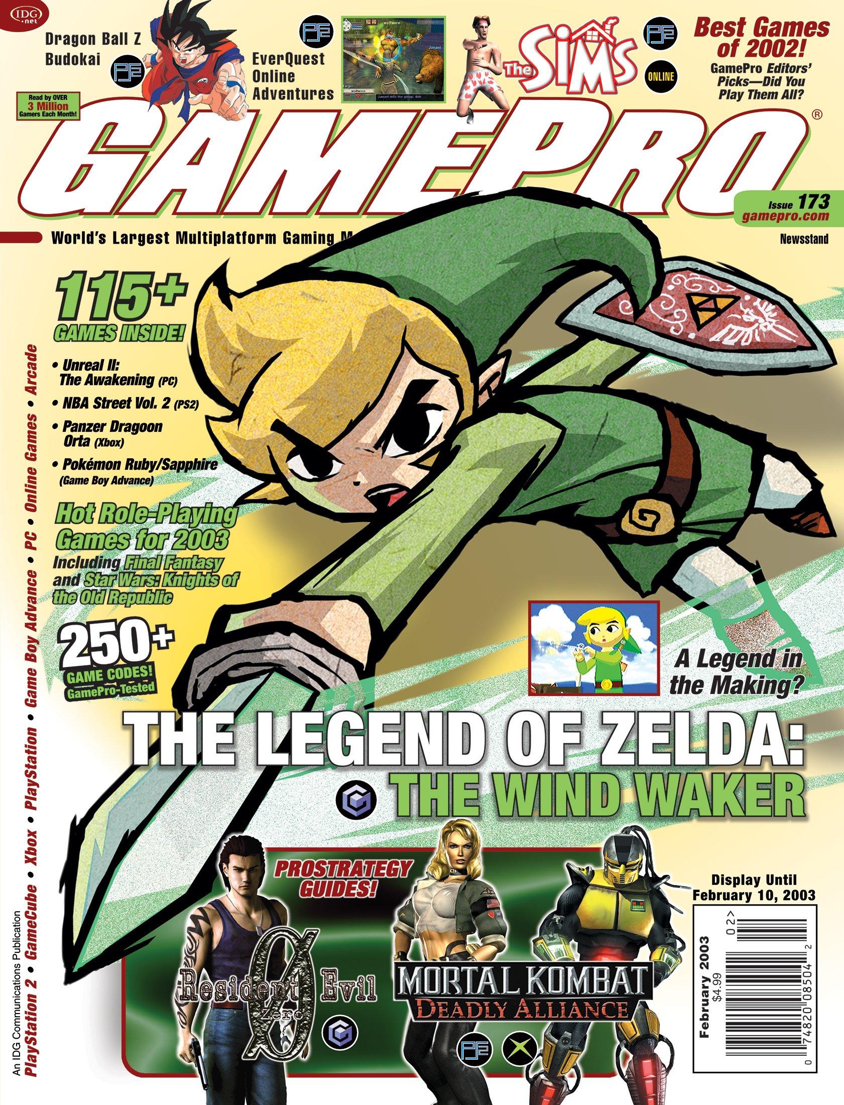 GamePro Issue 173 (February 2003)
