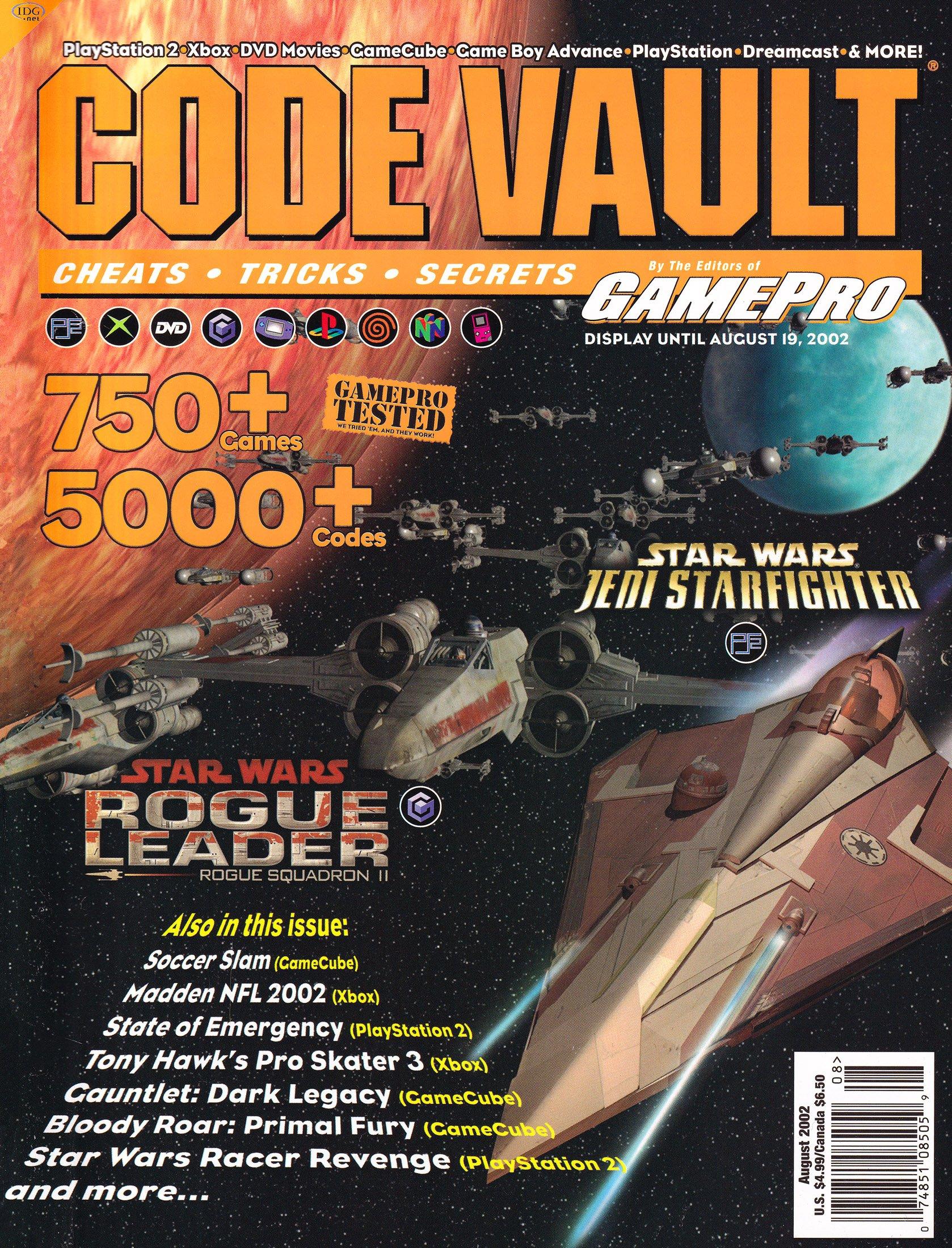 Code Vault Issue 06 (August 2002)
