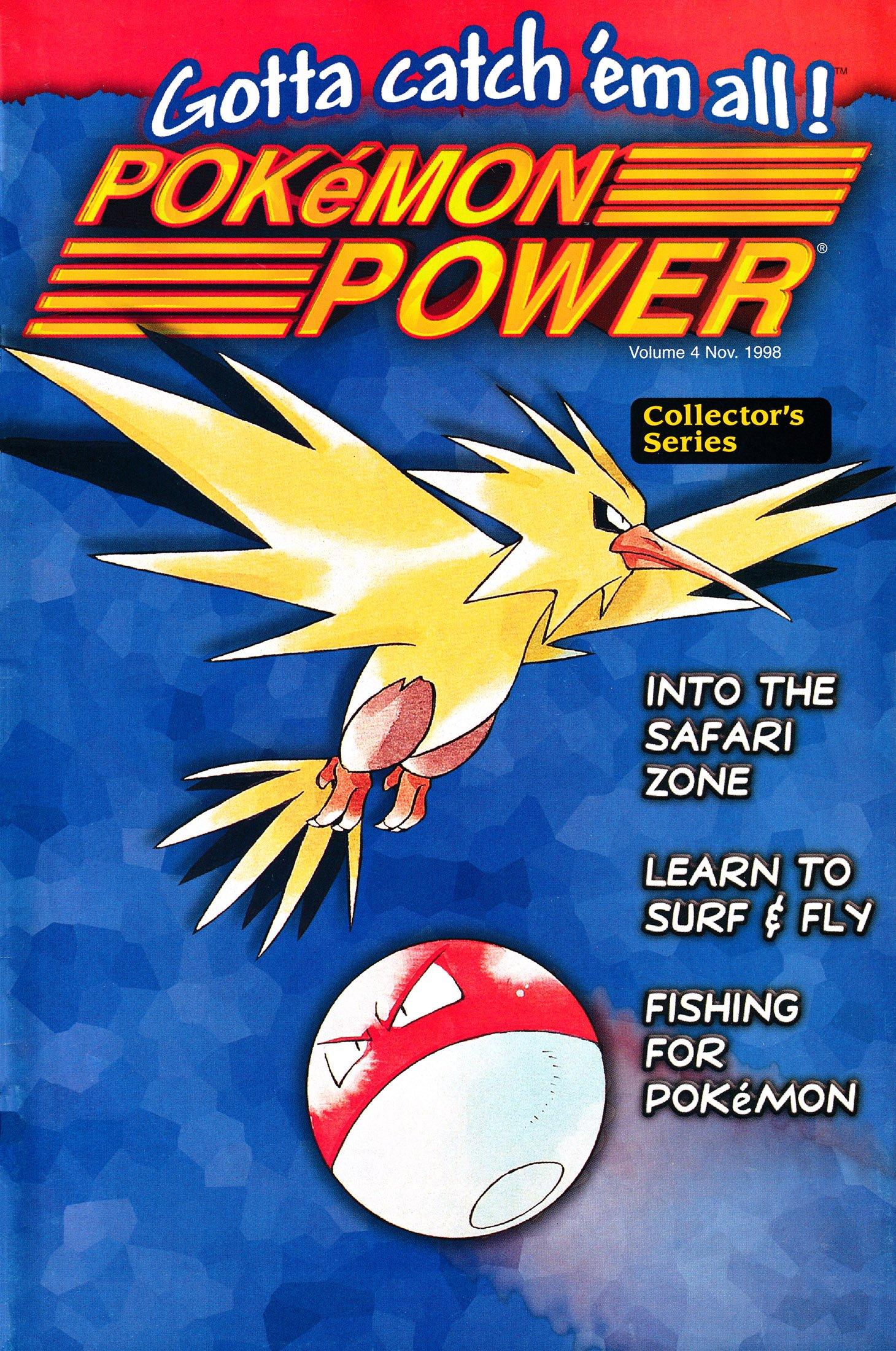 Pokémon Power Volume 4 (November 1998)