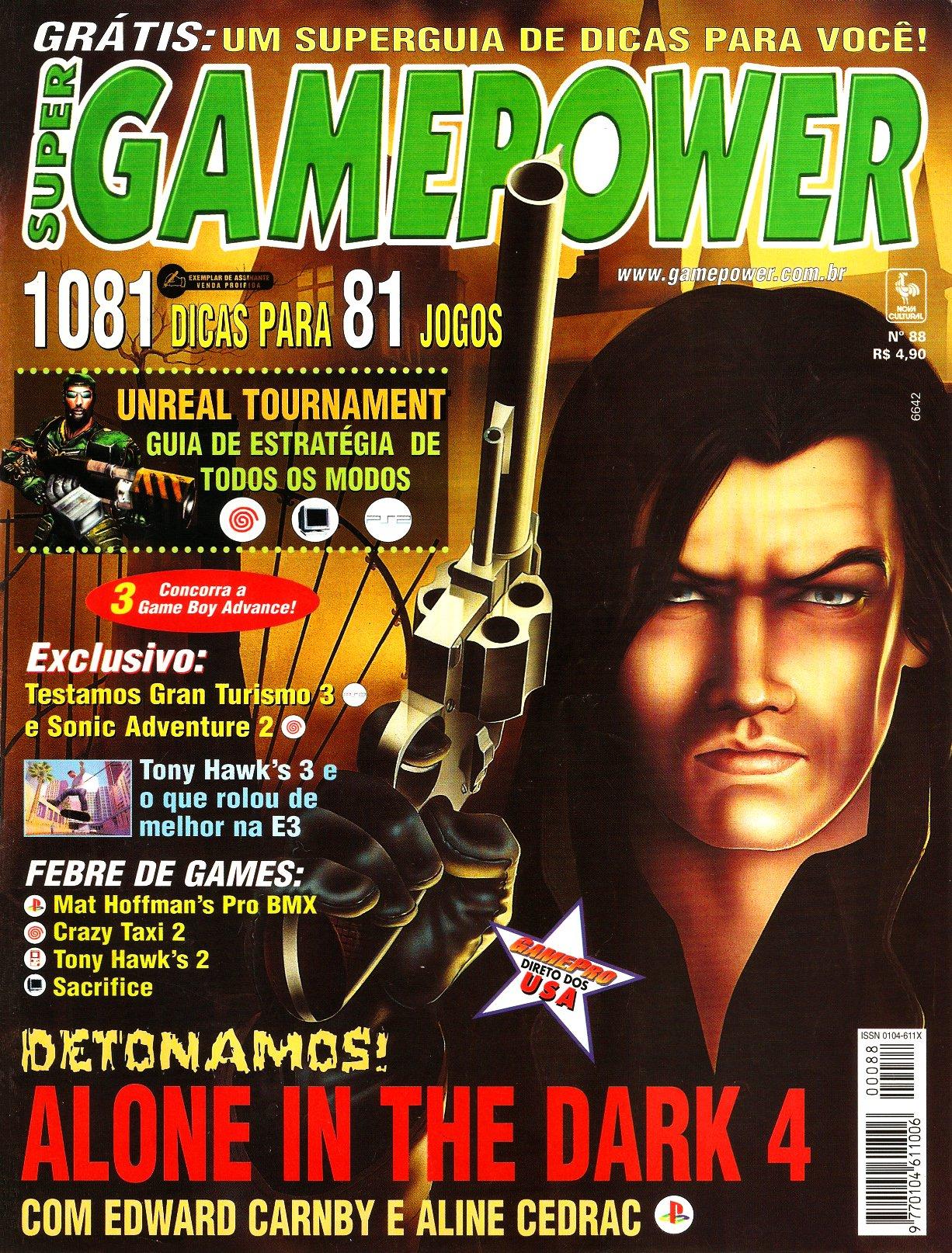 SuperGamePower Issue 088 (July 2001)