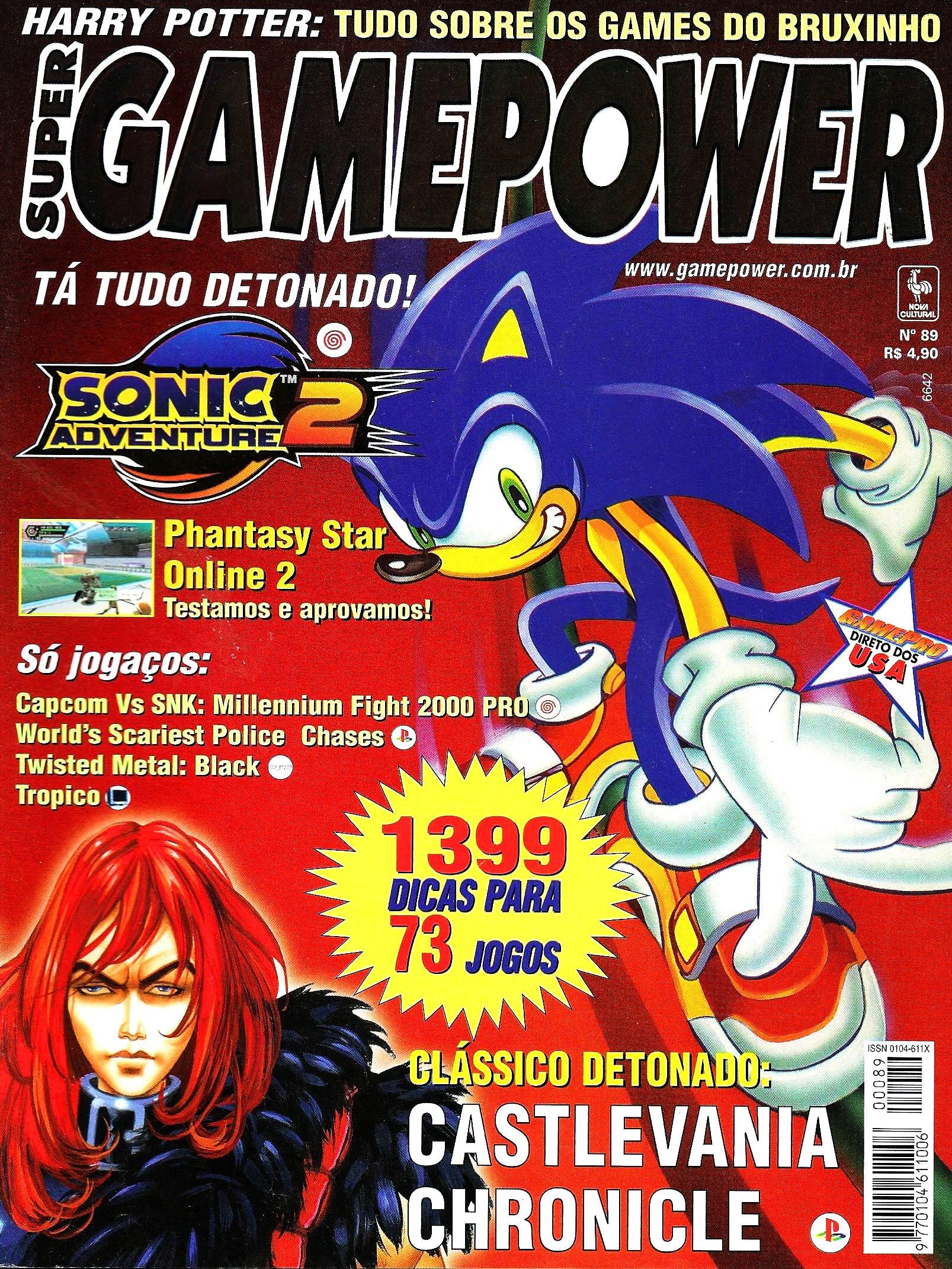 SuperGamePower Issue 089 (August 2001)