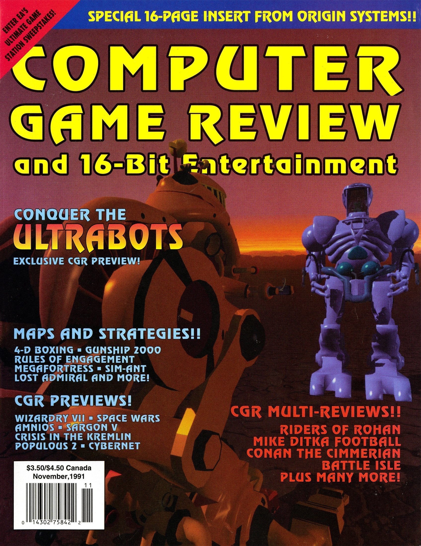 Computer Game Review Issue 04 (November 1991)