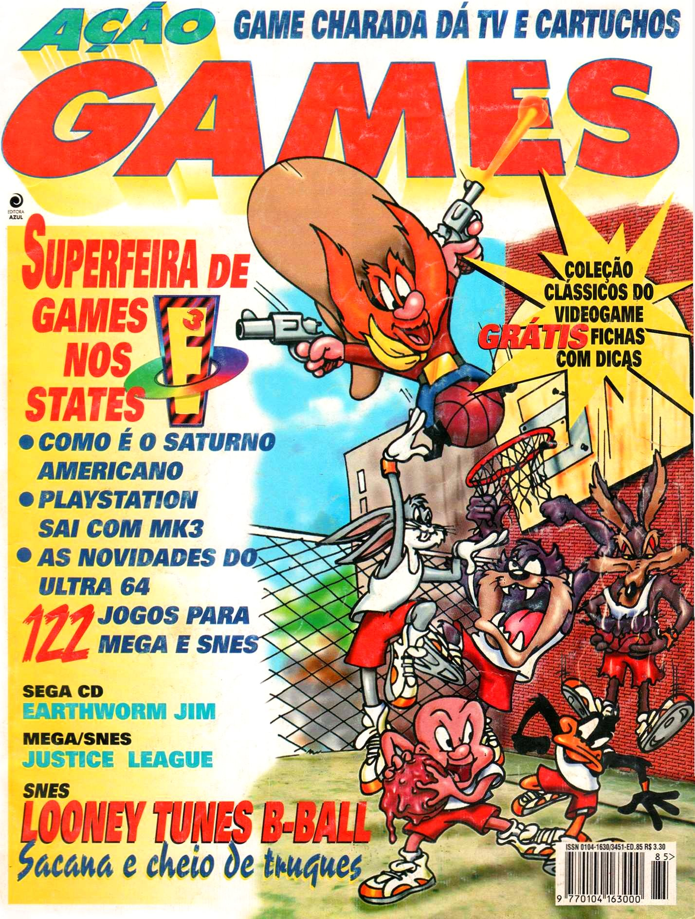 Acao Games Issue 085 (June 1995)