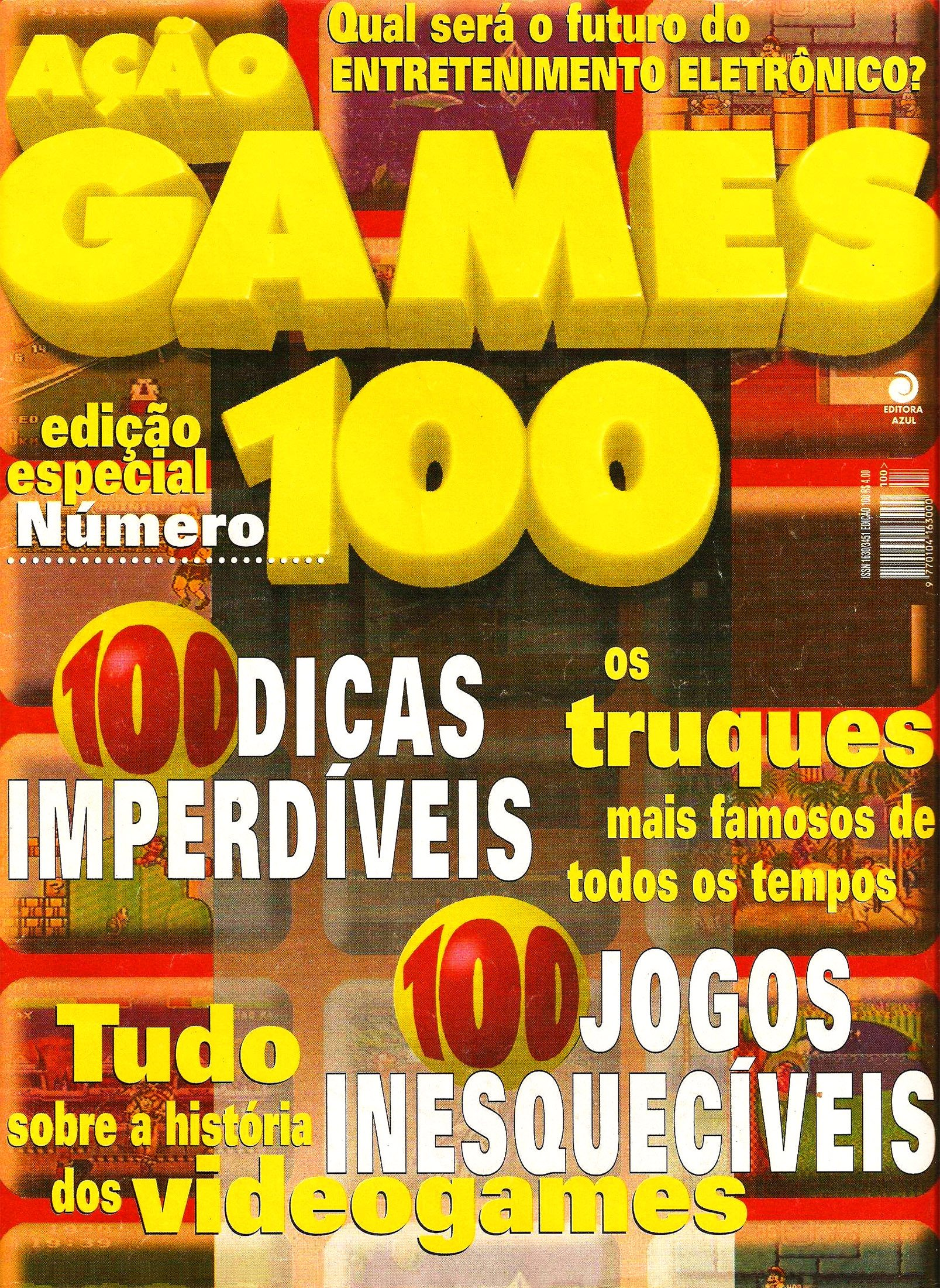 Acao Games Issue 100 (February 1996)