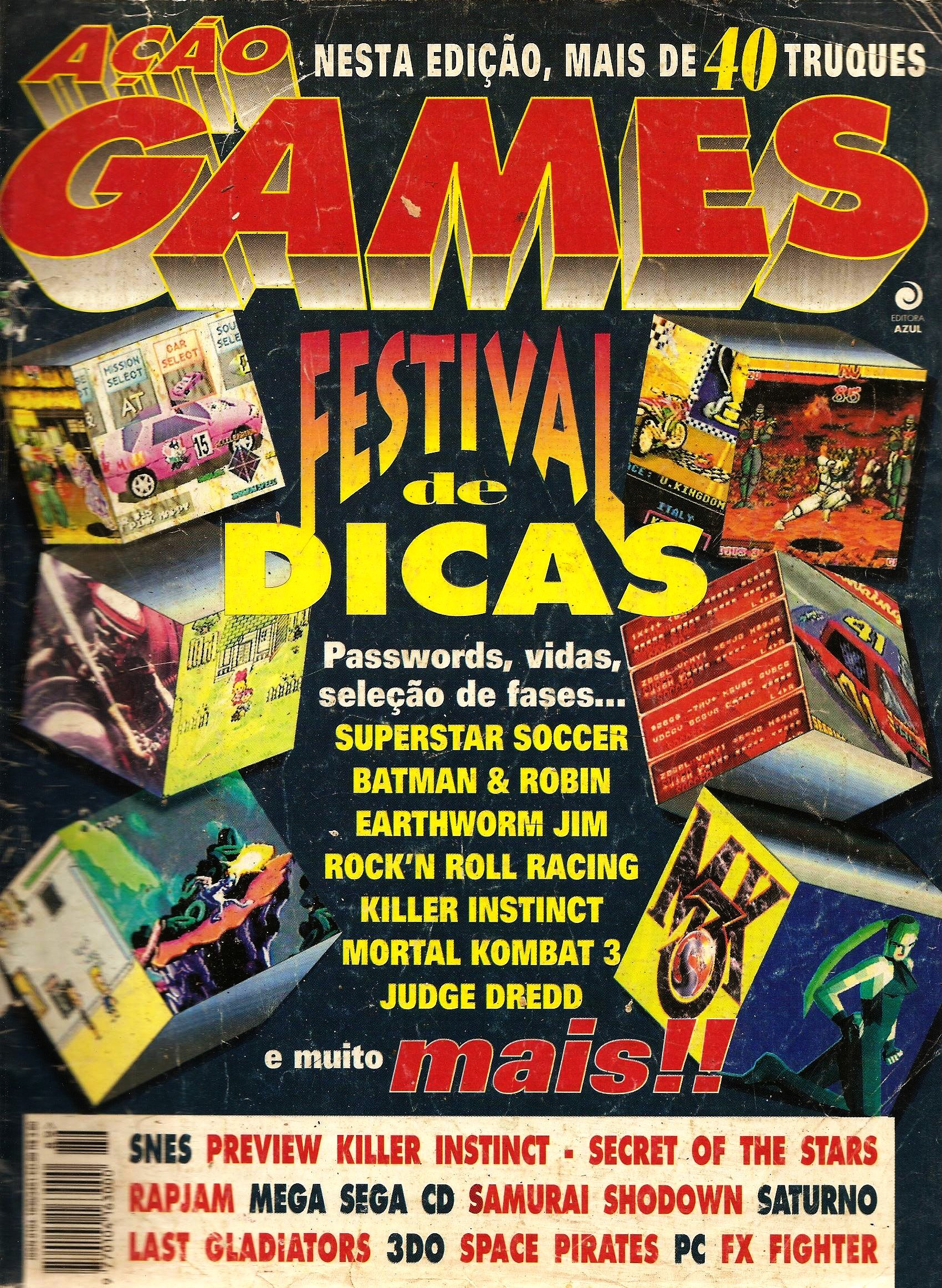 Acao Games Issue 089 (August 1995)
