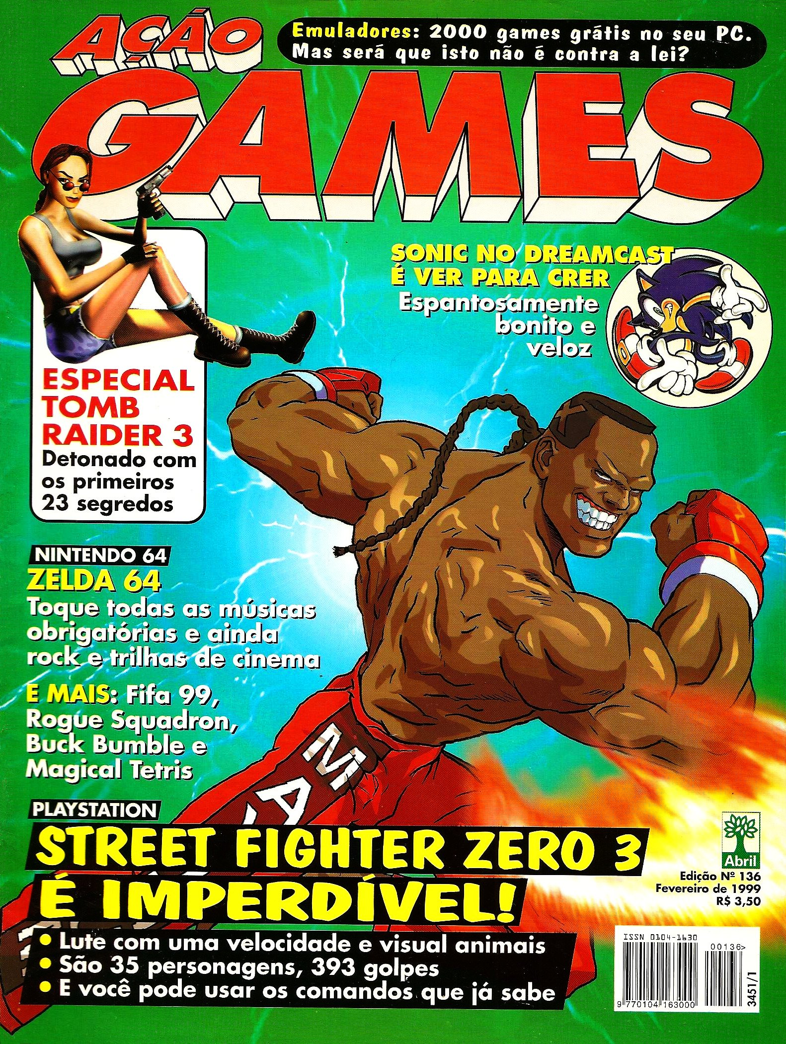 Acao Games Issue 136 (February 1999)