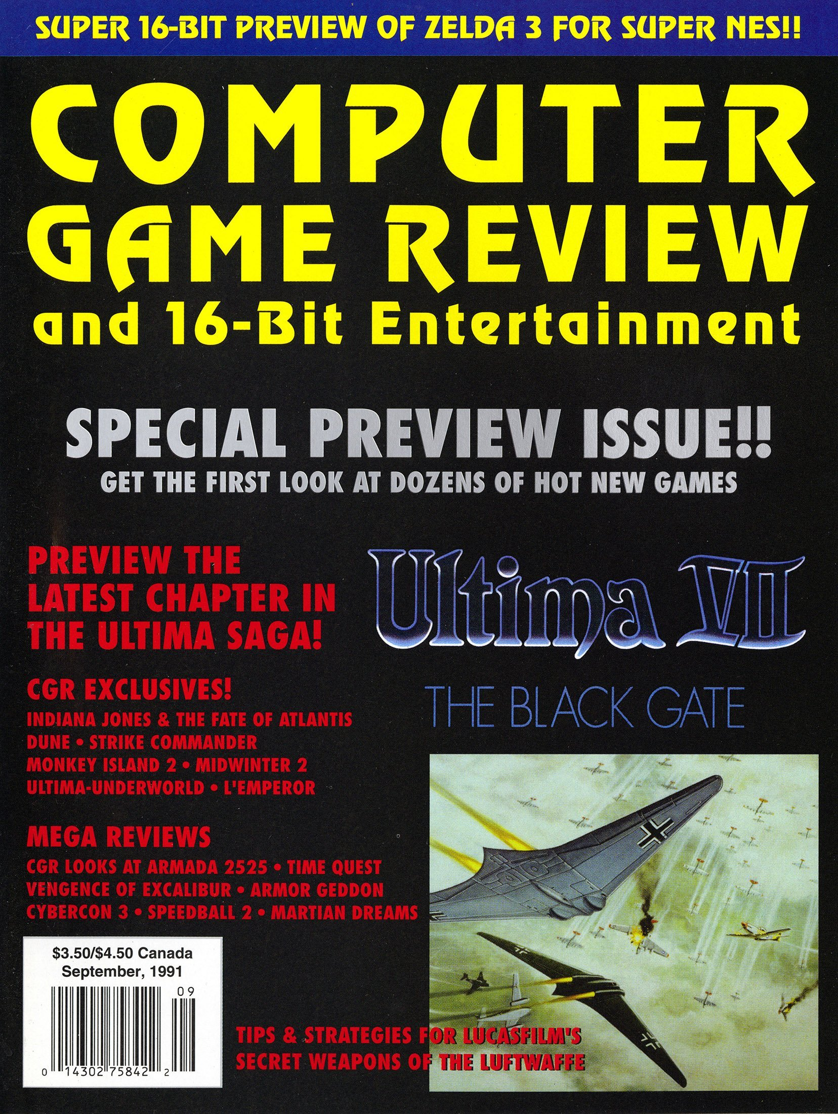 Computer Game Review Issue 02 (September 1991)
