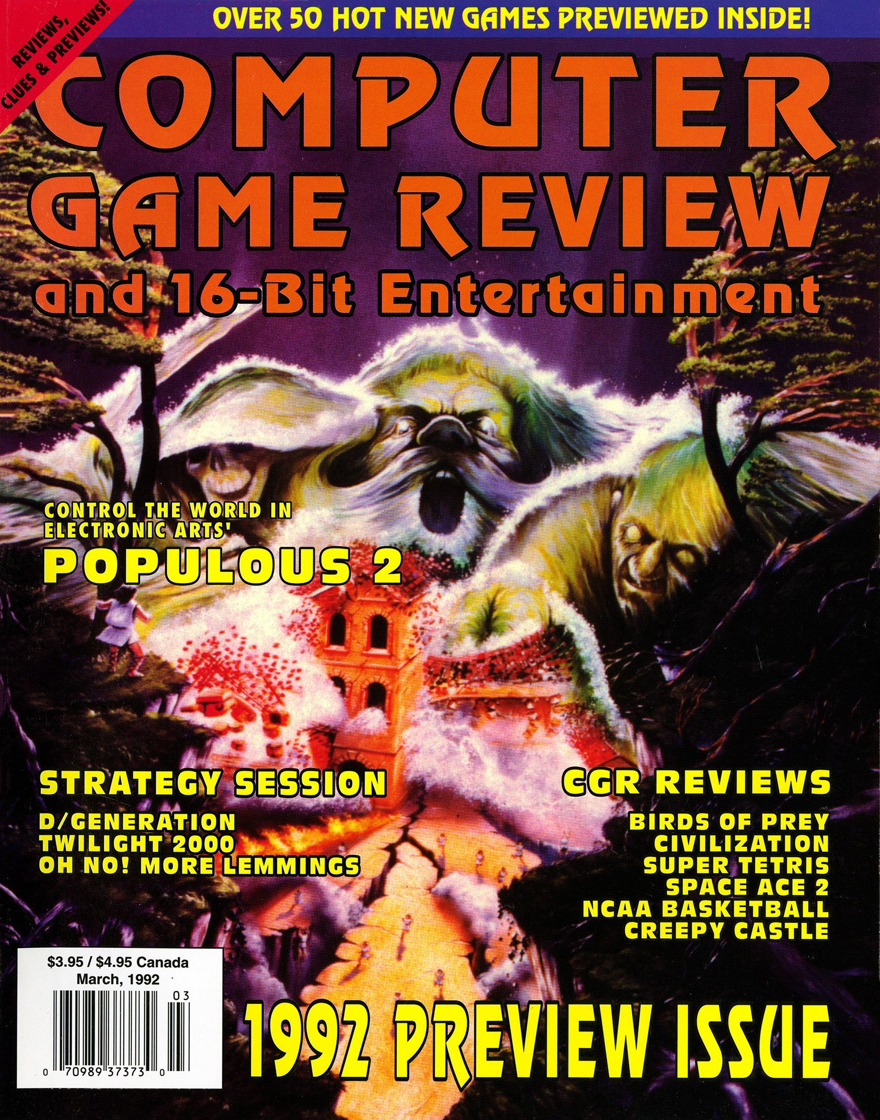 Computer Game Review Issue 08 (March 1992)