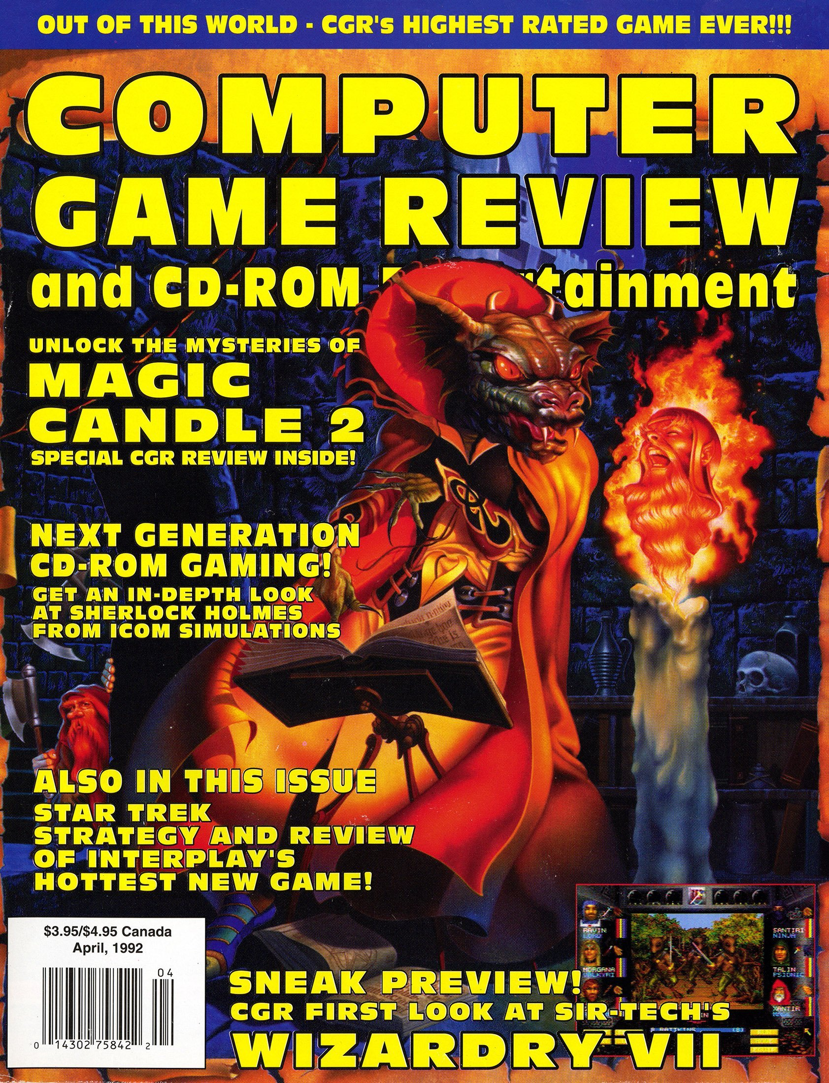 Computer Game Review Issue 09 (April 1992)