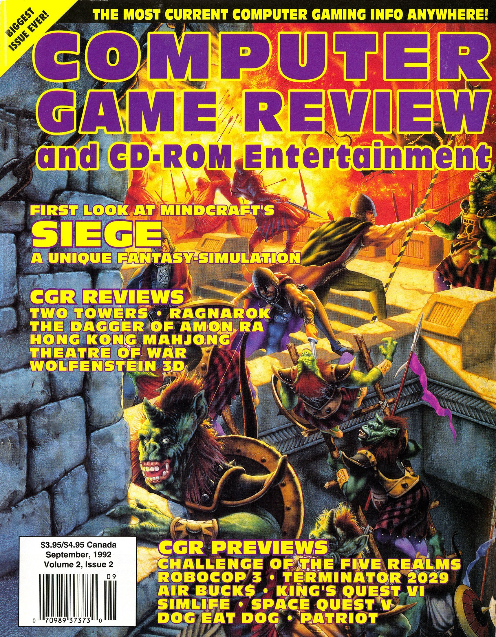 Computer Game Review Issue 14 (September 1992)